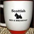 Scottish Bed & Breakfast Mug