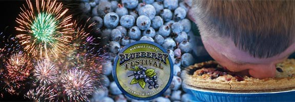The Marshall County Blueberry Festival
