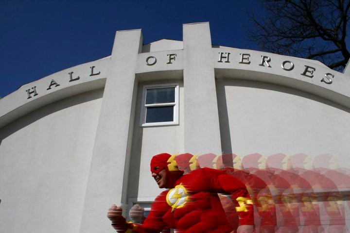 Elkhart, Indiana's Hall of Heroes Superhero and Comicbook Museum!
