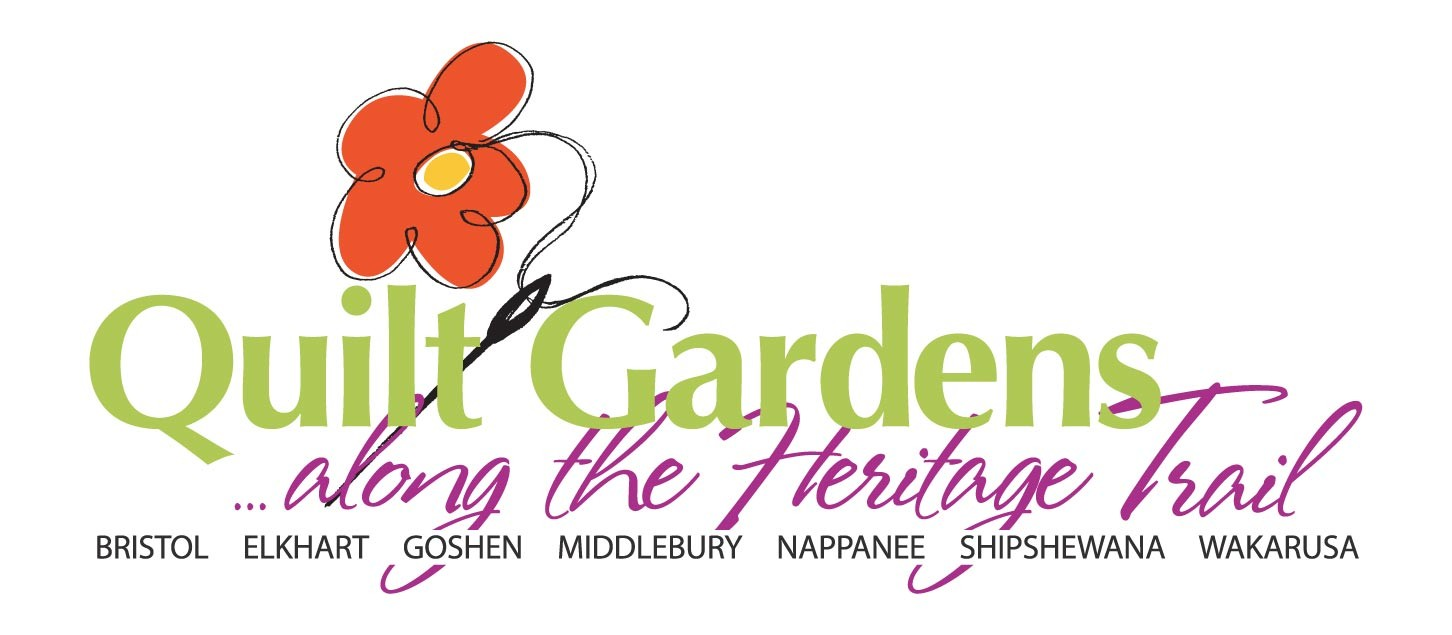 Indiana elkhart county bristol - Quilt Gardens Along The Heritage Trail Celebrate Indiana S 200th