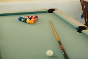 Scottish Bed & Breakfast Pooltable