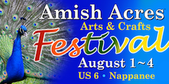 Amish Acres Arts & Craft Festival logo