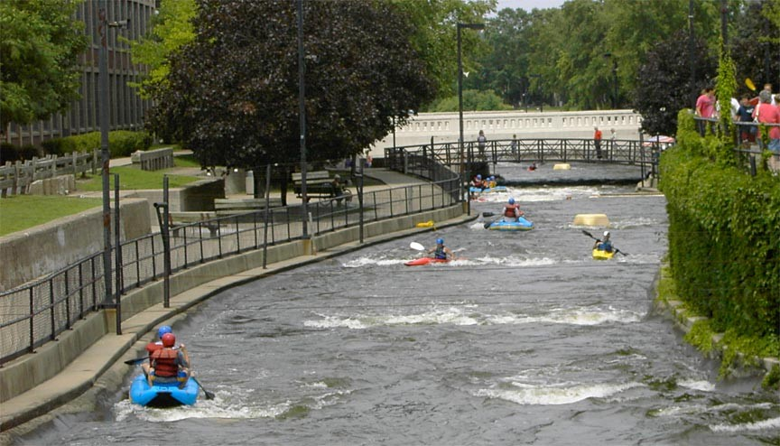 Whitewater Rafting In South Bend, Indiana