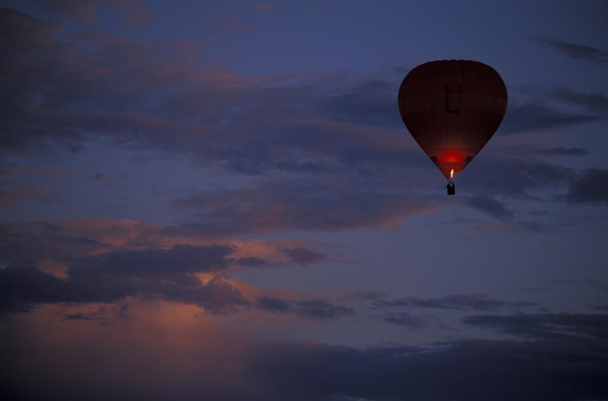 It's up, up, and away on a Bremen Hot Air Balloon Ride!
